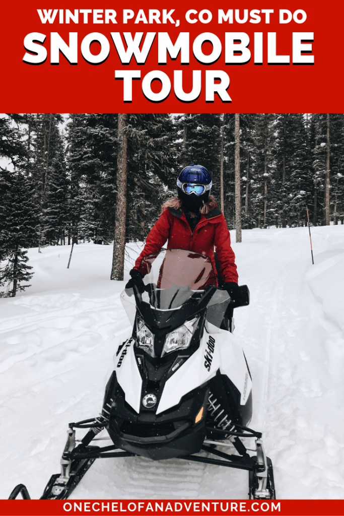Snowmobiling Tour in Winter Park, Colorado