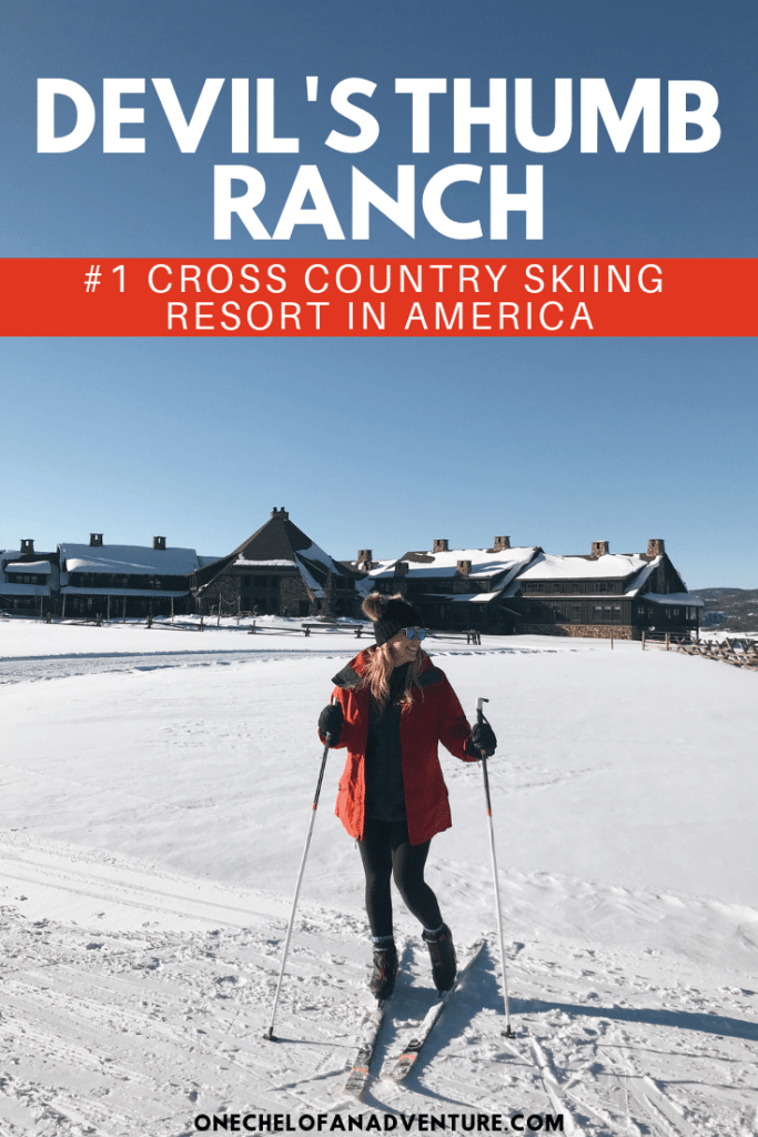 The #1 Cross Country Skiing Resort in America - Devil's Thumb Ranch, Colorado