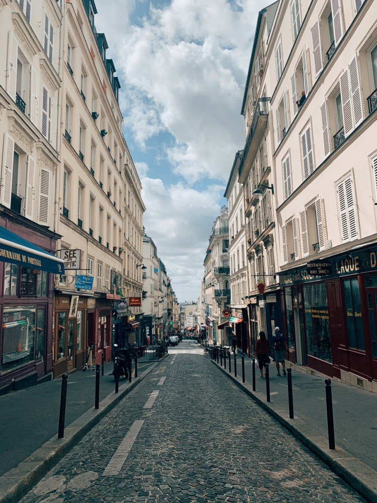 Romantic Streets in Paris