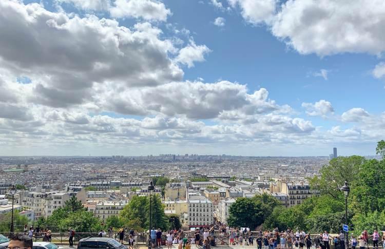 View of Paris from Sacré-Cœur