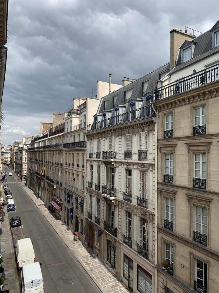 Romantic Streets in Paris, France