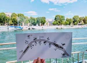 Bateaux River Lunch Cruise Paris Cruise Route
