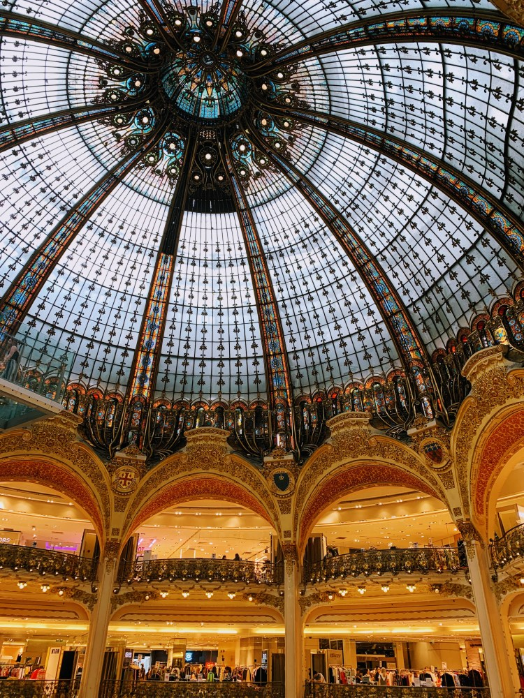 Romantic Weekend in Paris - The Galeries Lafayette