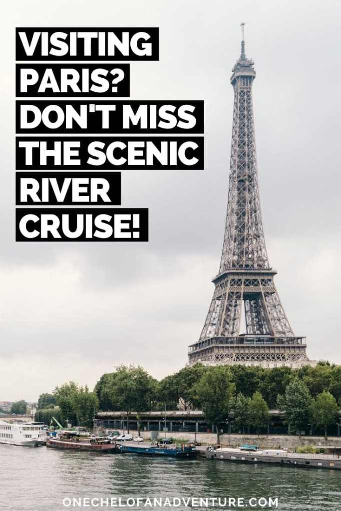What to do when Visiting Paris: Bateaux Parisiens Seine River Scenic Lunch Cruise