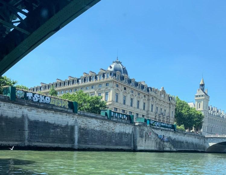 Bateaux Parisiens Seine River Lunch Cruise Sights