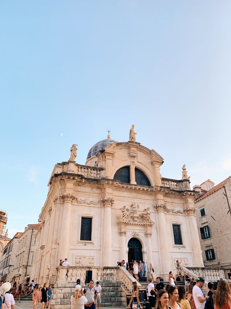 Church of St. Blaise Dubrovnik Croatia