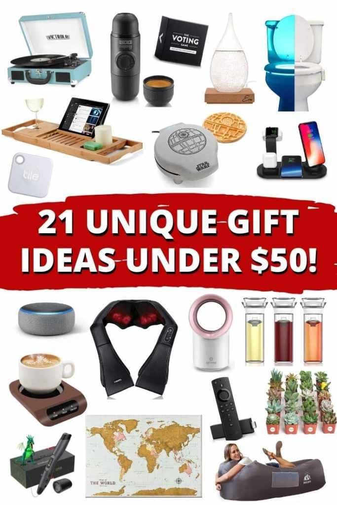 21 Unique Gift Ideas Under $50