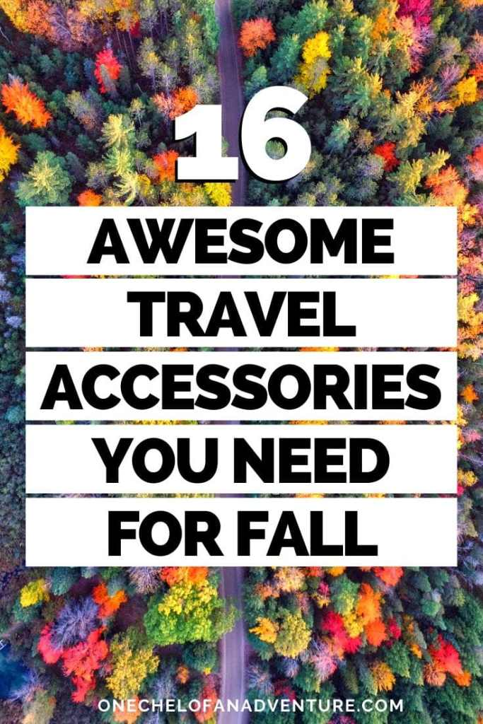 16 Awesome Travel Accessories You Need This Fall