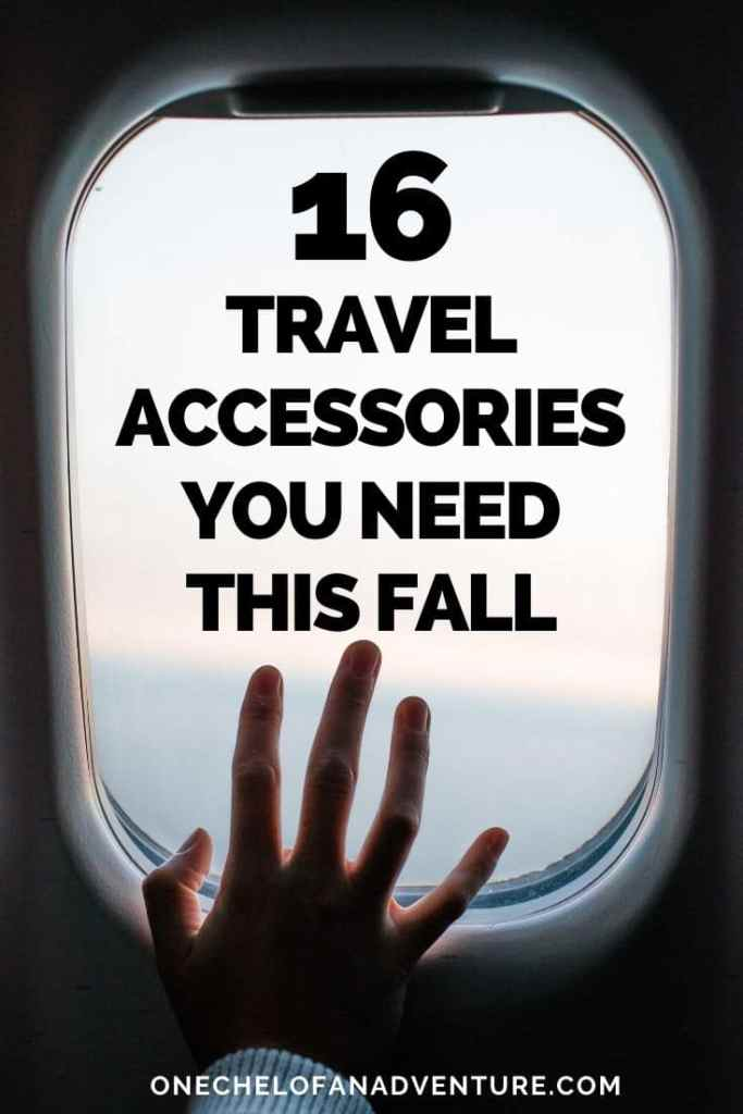 16 Travel Accessories To Buy This Fall