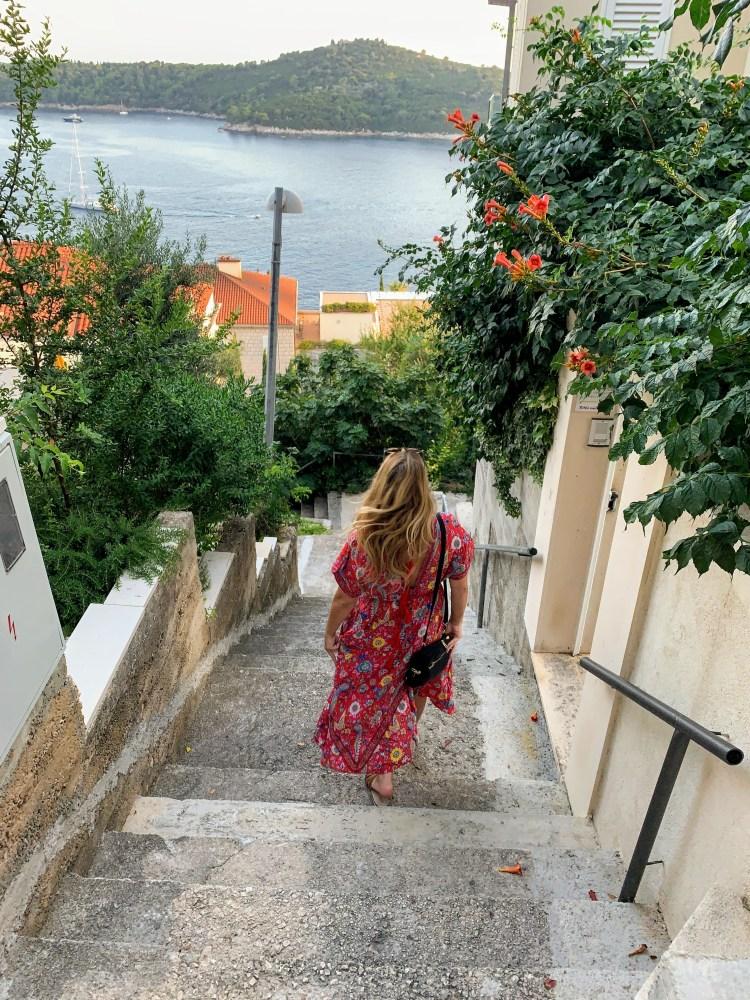 Dubrovnik Croatia Stairs