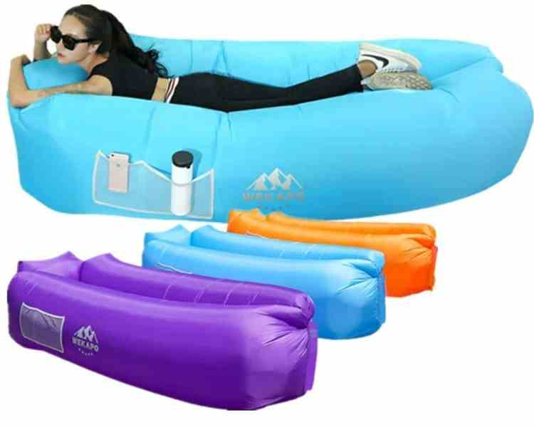 Unique Gift Ideas Under $50 - Portable Inflatable Lounger Air Sofa