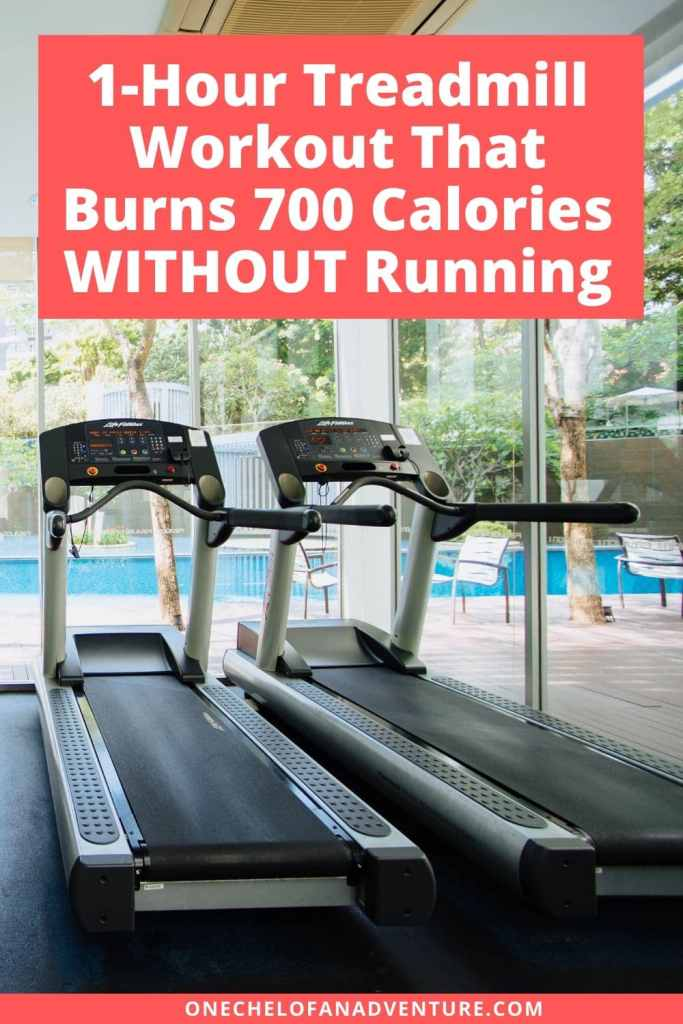 1-Hour Treadmill Workout That Burns 700 Calories​ WITHOUT Running