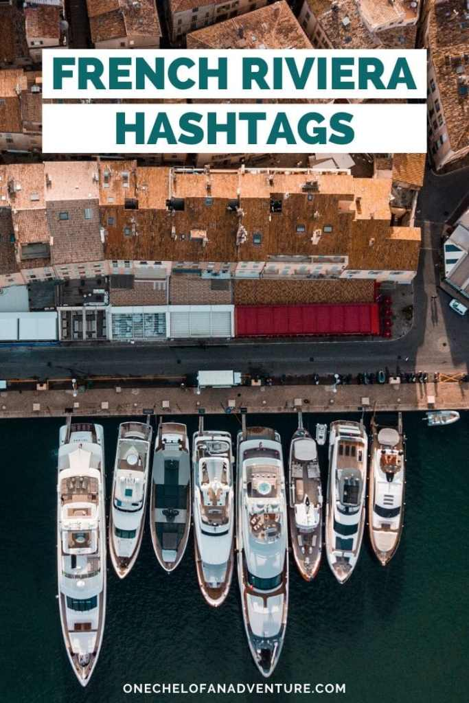 French Riviera Hashtags