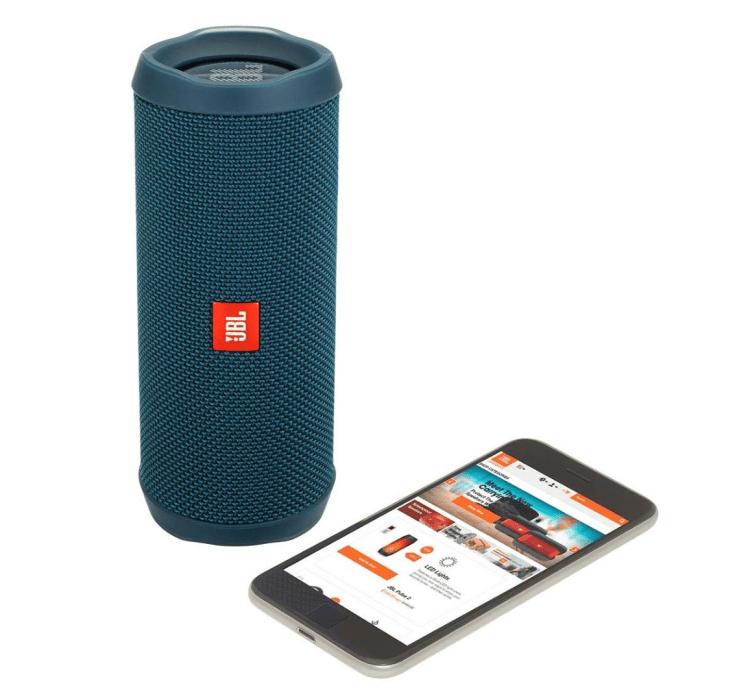 Tropical Vacation Beach Packing List - Waterproof Speaker