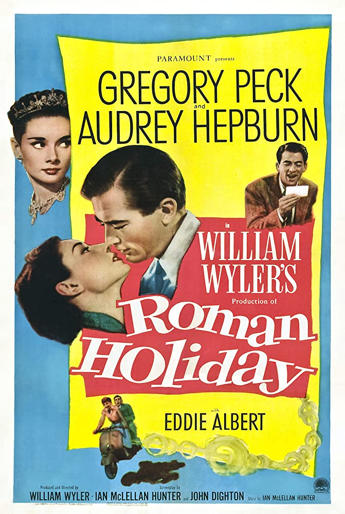 Travel Movies - Roman Holiday