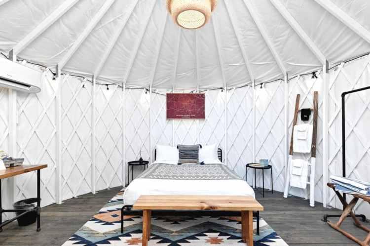 Lucky Arrow Retreats Glamping Yurt