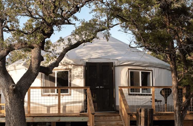 Yurt at The Cedars Ranch