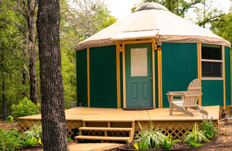 Glamping Yurt in Bastrop