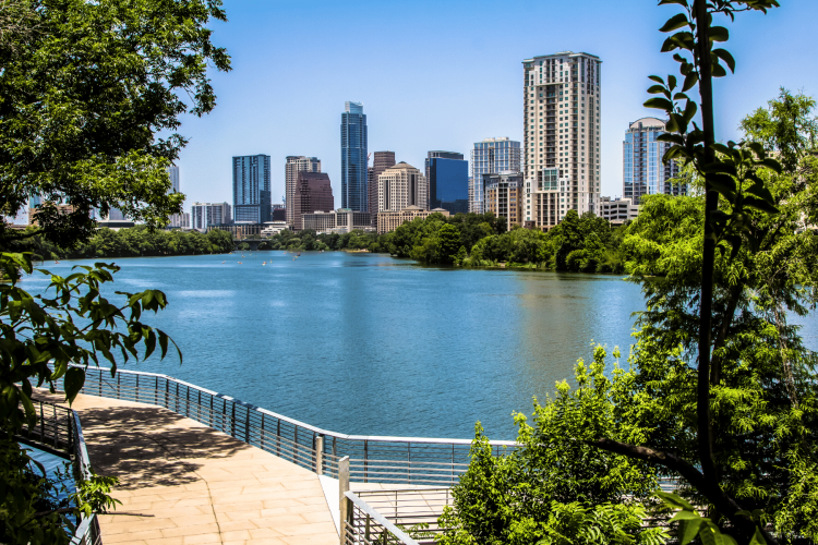Austin hiking and walking trails during covid