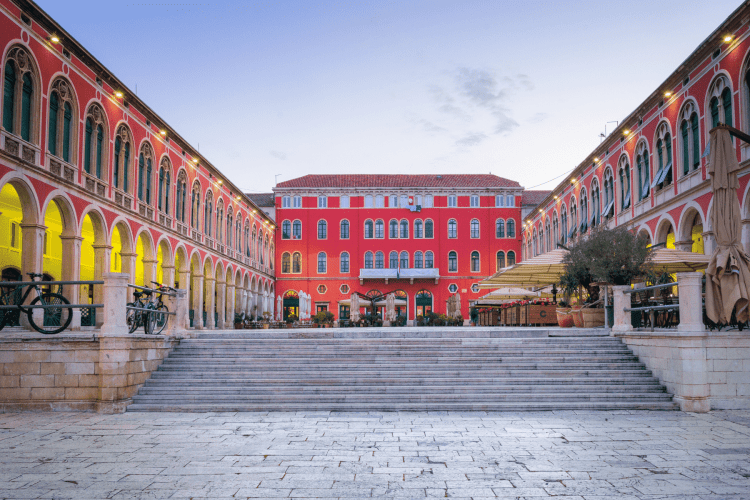 Republic Square​ in Split