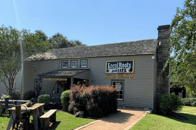 Local Roots Cafe in Round Top