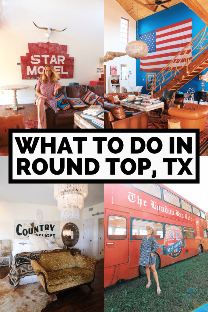 Things to do in Round Top TX