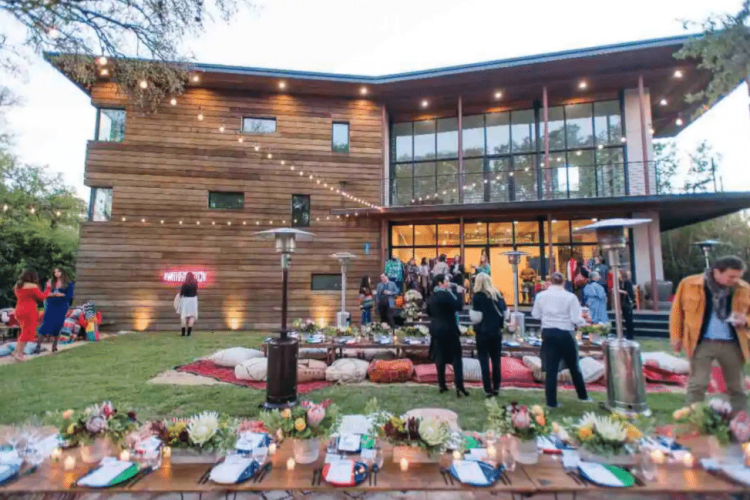 beautiful event at austin Airbnb