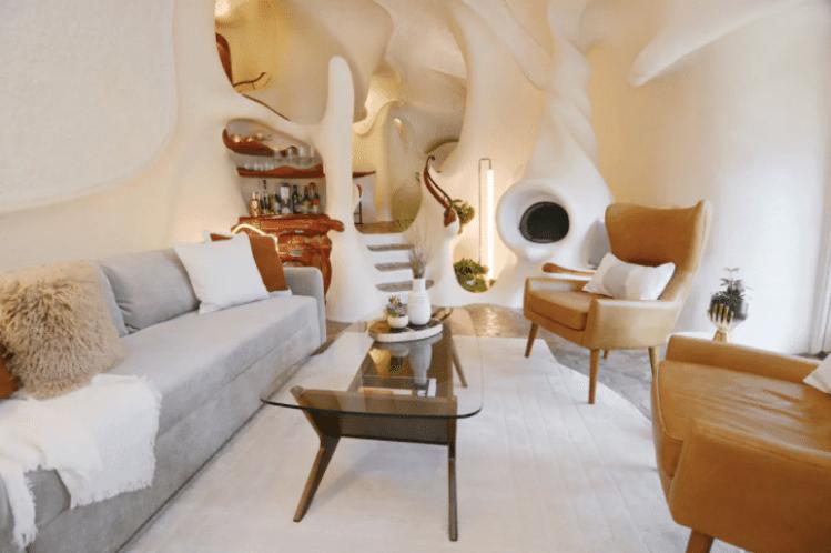 the bloomhouse austin airbnb interior