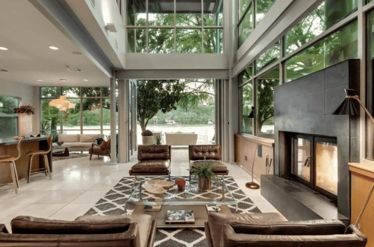lake austin airbnb luxury