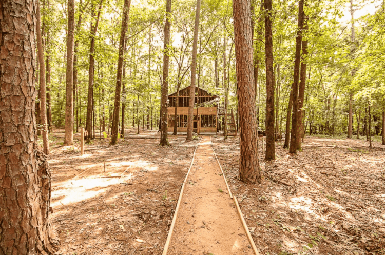 treehouse cabin rental texas
