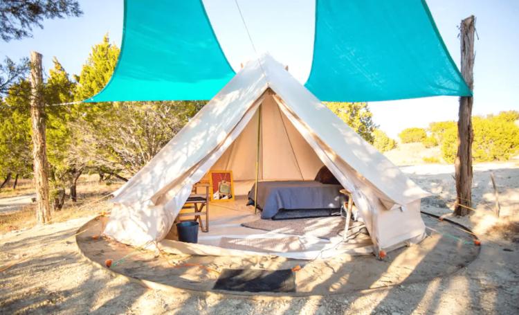 Glamping Tent near Pedernales Falls