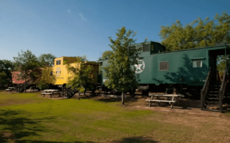 Unique Hill Country Airbnbs - train stay