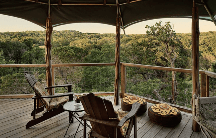 Sinya Glamping Safari Tent near San Antonio