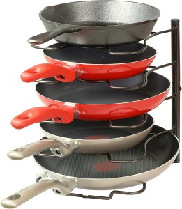 Pan organizer - kitchen/foodie gift