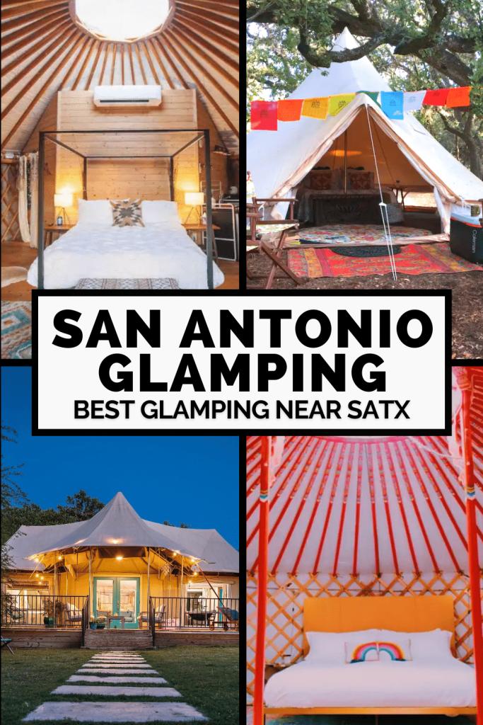 San Antonio Glamping Spots