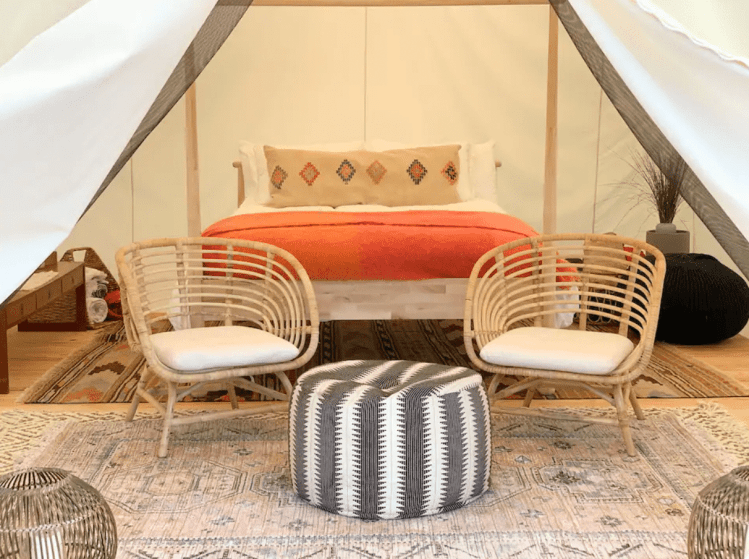 Surya Safari Tents for glamping