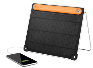 Gift ideas for Travelers - Portable Solar Charging Panel