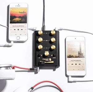 tech gift ideas - pocket dj mixer