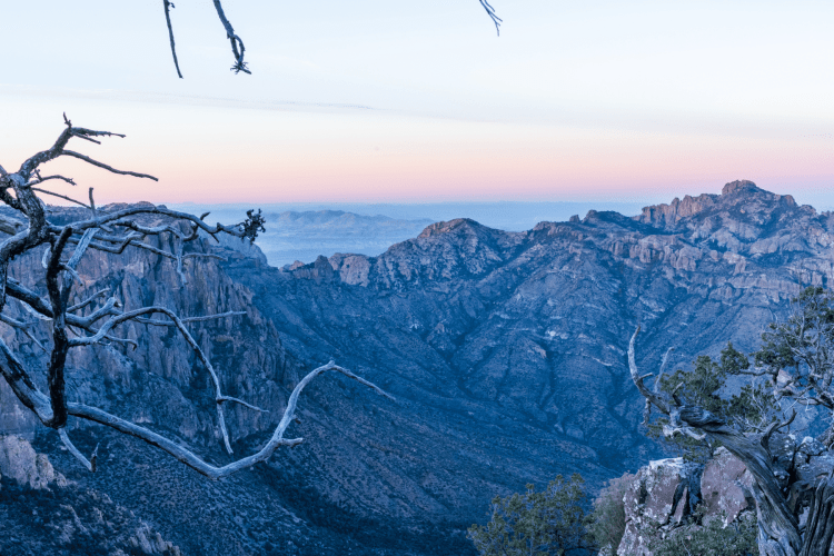 Winter Vacation Idea in Texas - Big Bend National Park