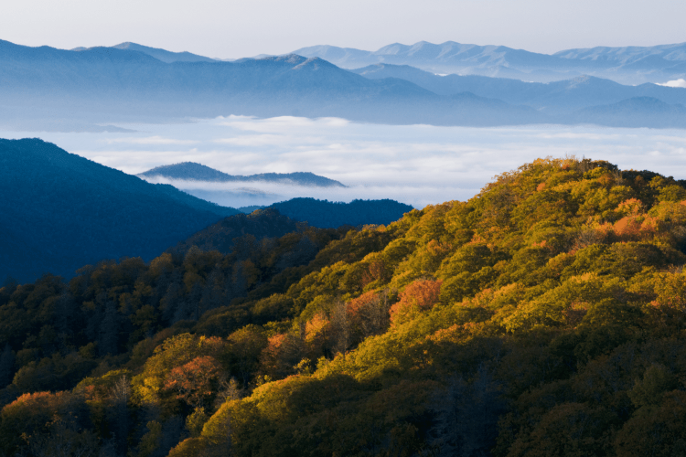 Most Beautiful National Parks in the USA - Great Smoky Mountains