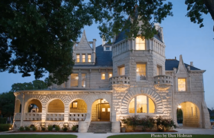 Castles You Can Rent in Texas - Lambermont Estate