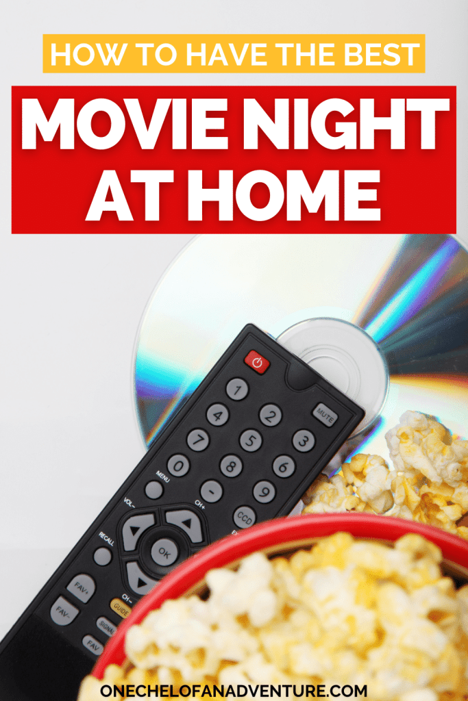 Movie Date Night At Home Ideas