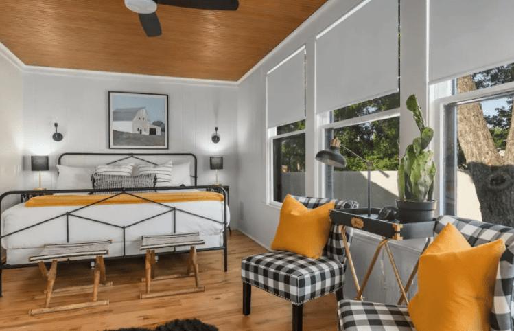 Cloud Nine Airbnb Rental in Fredericksburg