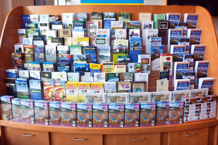 welcome center travel brochures - How to Be a Tourist in Your Own City