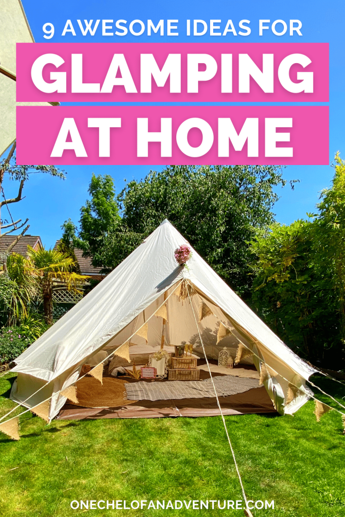 Glamping at Home Ideas
