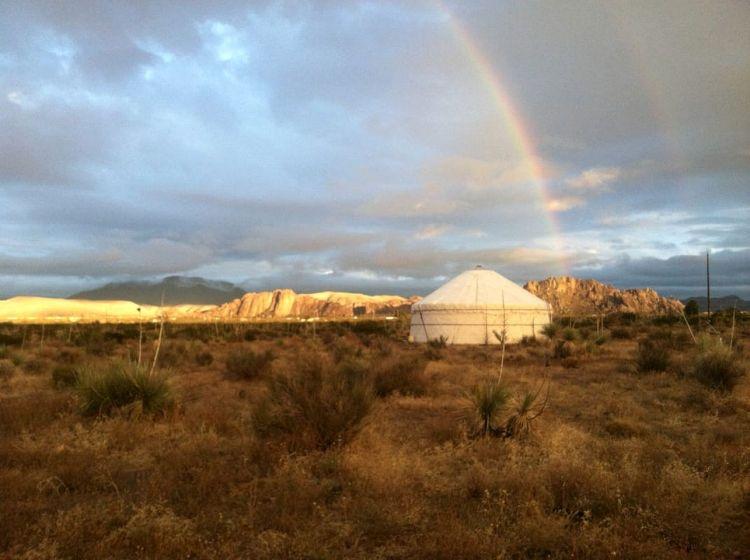 Family friendly Texas Yurt