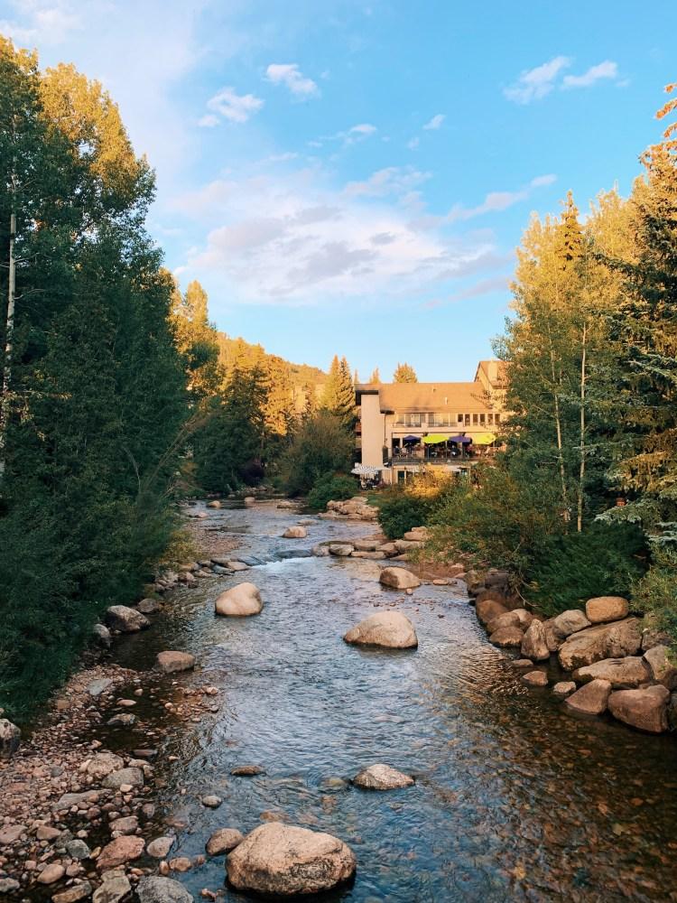 Gore Creek in Summertime