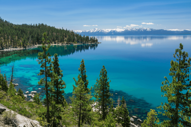 Lake Tahoe California -Best Mountain Destinations in the USA for Summer