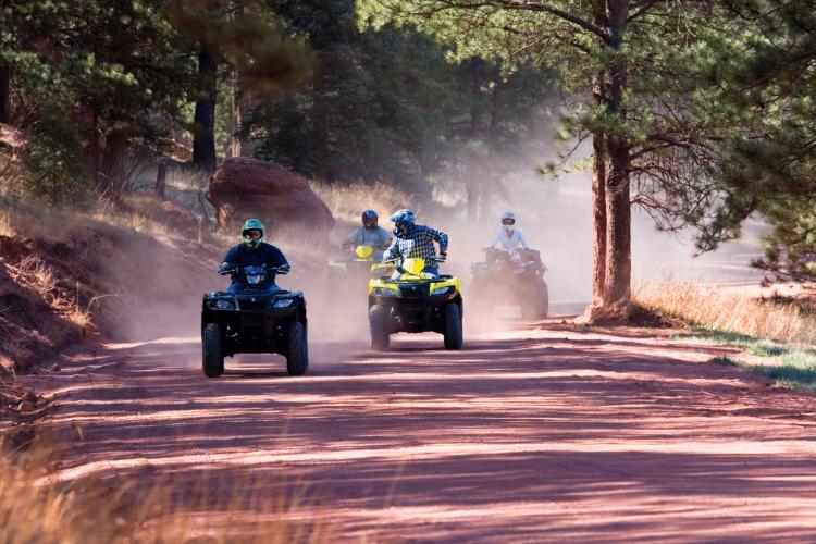 ATV Riding near Vail