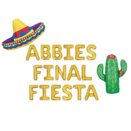final Fiesta Bachelorette Party - custom name